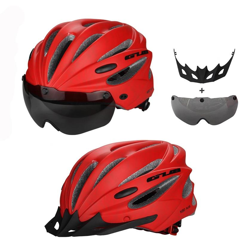 GUB High Density EPS rowerowy kask z gogle MTB Mountain rowerowe - Jazda rowerem - Zdjęcie 3