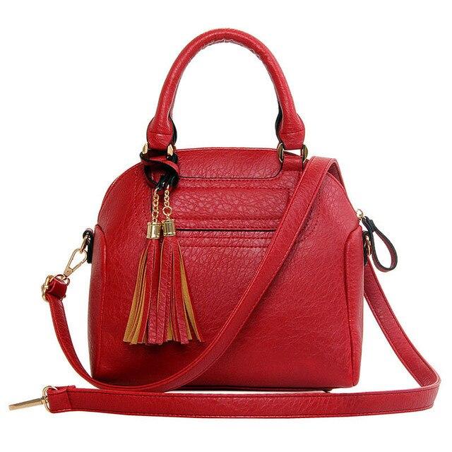 Fashion Designer Shoulder Bags For Women Solid Tassel Shell Luxury Handbags Women Bags Designer Crossbody Bags for Ladies T509
