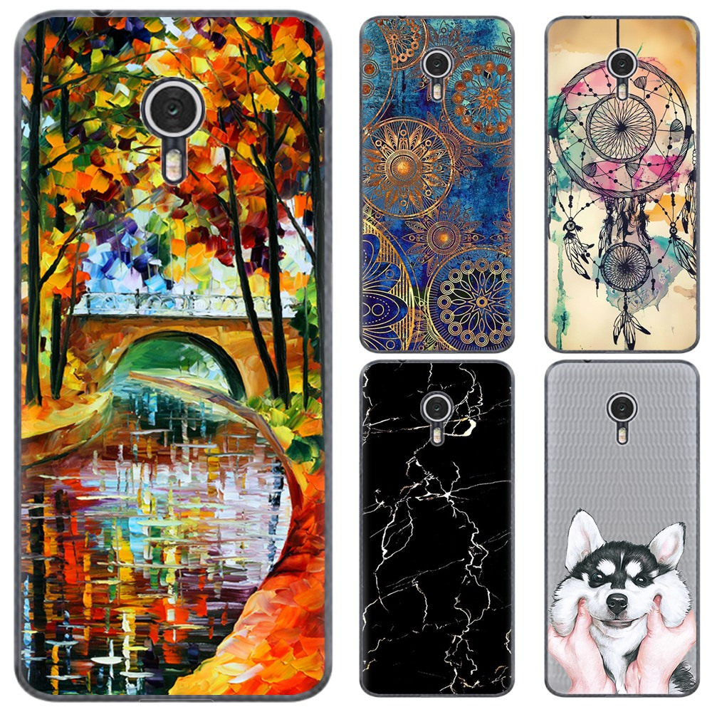 Soft Phone Case For Vodafone Smart N9 Lite 5.34 inch New Style Art Design Stylish Painted Back Phone Cover TPU Silicone Cover|Fitted Cases| |  - title=