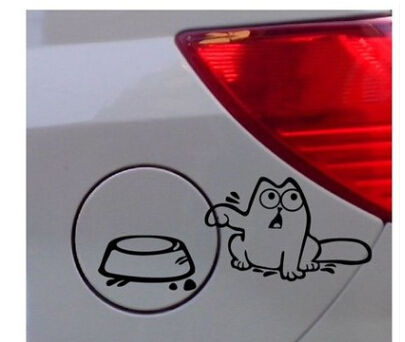 Car Sticker Animal Pvc Cm Funny Car Decals Sticker Carbon - Funny car decal stickers
