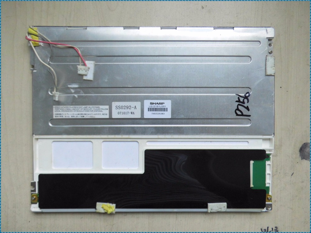LQ121S1LG51 800*600 12.1 INCH Industrial LCD,A+ Grade in stock, tested before shipmentLQ121S1LG51 800*600 12.1 INCH Industrial LCD,A+ Grade in stock, tested before shipment