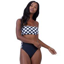 9c1ff493d47 2019 new plaid bikini set tube top swimwear women s swimming suits Brazilian  sexy bikinis sexy push up swimsuits beach wear