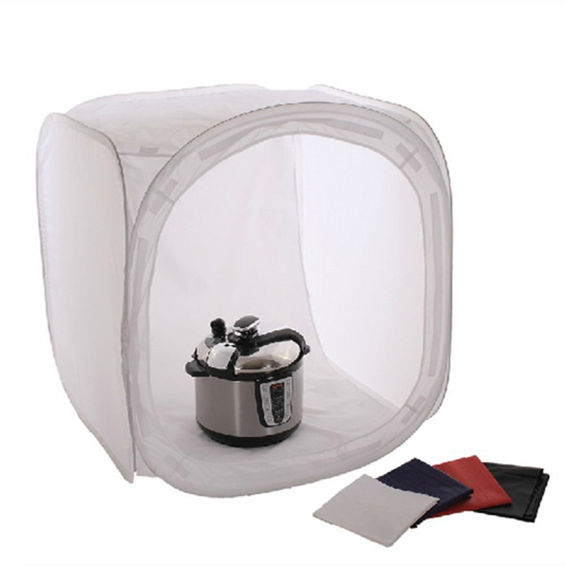 19 50cm Photo Studio Collapsible Light Box Fotografia Light Tent 4 Backdrops Softbox Lightbox Photography Studio
