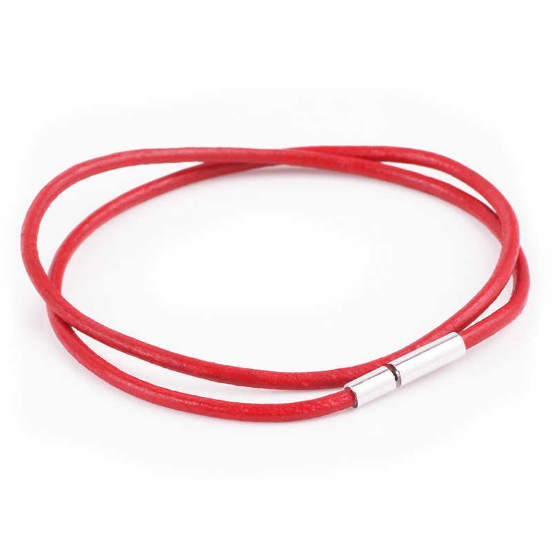 AIFEILI 2019 gorąca sprzedaż 8 kolorów PU Leather Wrap bransoletka z zapięciem magnetycznym wysokiej jakości biżuteria dla oryginalny kobiety mężczyźni pulseira