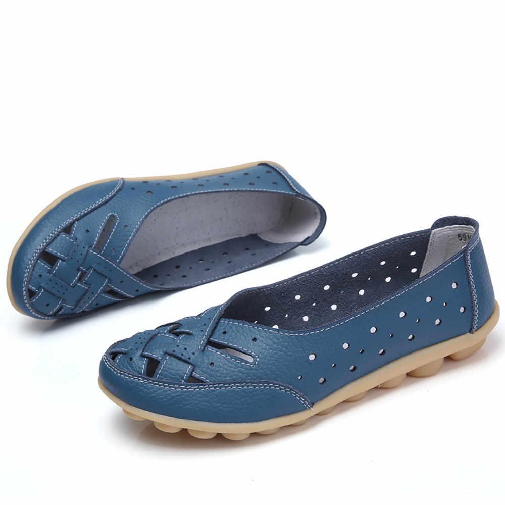 Jaycosin sandalet yaz bayanlar yuvarlak kafa bezelye delik ayakkabı sandalet rahat ayakkabılar ayak bileği rahat terlik ayakkabı bayanlar rüzgar sandalet