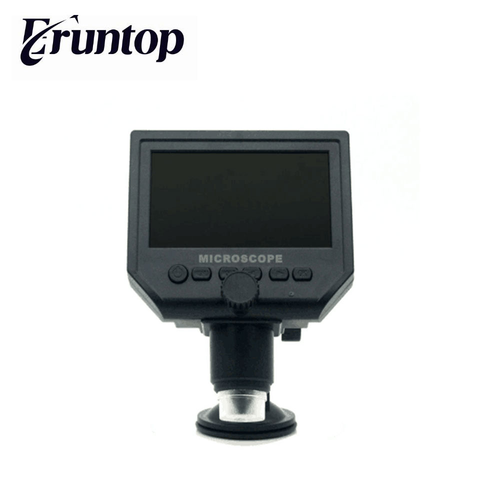 Eruntop 600X Portable 3.6MP Digital Microscope 4.3