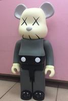 Новый 70 см Bearbrick быть @ rbrick 1000% Cos Kaws Медведь кукла ПВХ фигурку игрушки Книги по искусству отлично работают подарок для друзей Brinquedos аниме