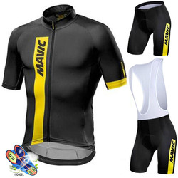 Mavic Pro Team Cycling Clothing 2020 Road Bike Wear Racing Clothes Quick Dry Men's Cycling Jersey Set Ropa Ciclismo Maillot