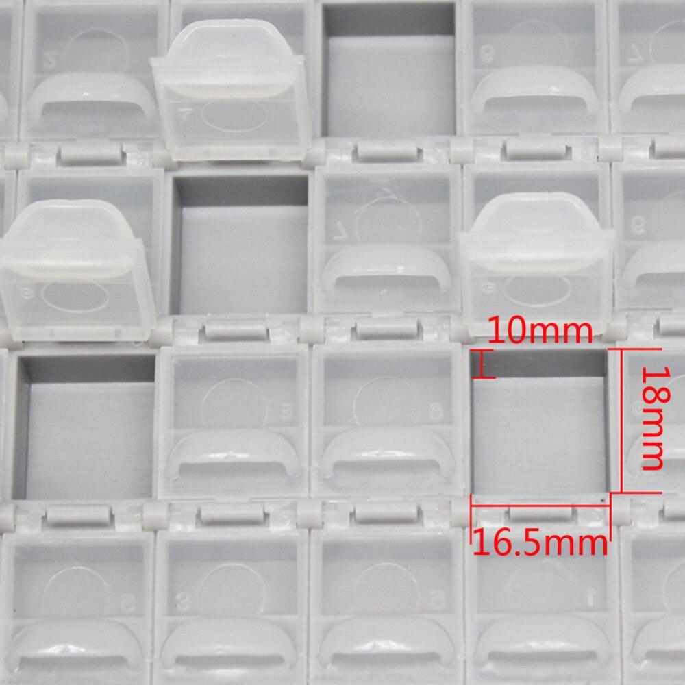 """""""AideTek SMT Resistor smd"""" dėžutės korpusas 1206 0805 72 - Įrankių laikymas - Nuotrauka 6"""
