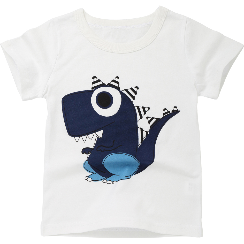New Boys T Shirt Cartoon Kids Clothes Summer 2018 Boy T Shirts Girls Tops Children T-shirts Short Sleeve Toddler Tshirt MF8528