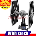 2017 Nueva LEPIN 05036 1685 Unids Star Wars TIE Fighter Kits de Edificio Modelo Bloques Ladrillos Compatibles Juguetes Para Niños de Regalo Con 75095