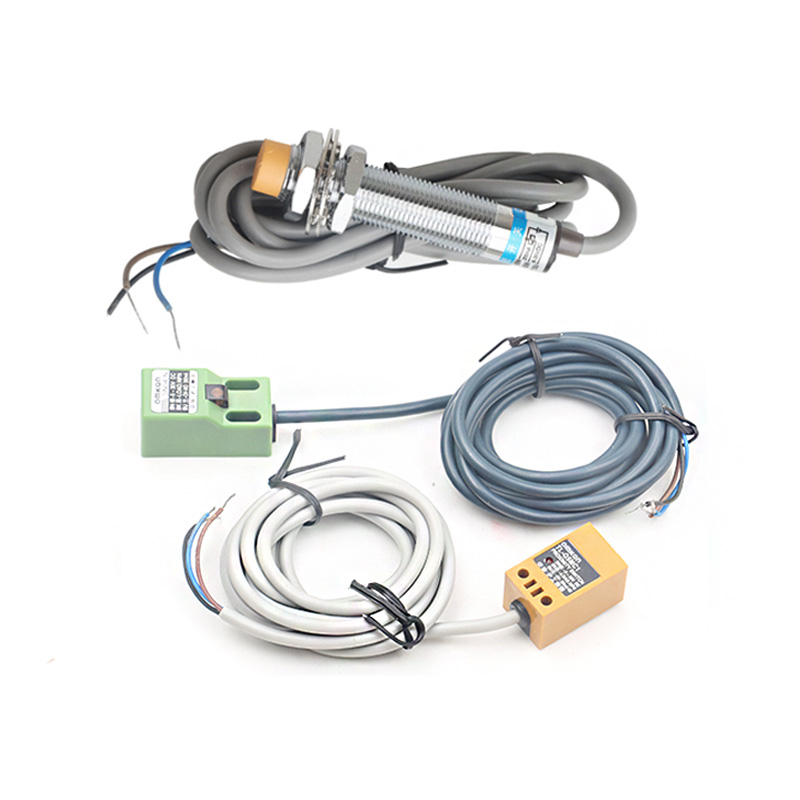 3pcs Limit Switch Cnc Router Co2 Laser Emergency Stop SN04-N TL-Q5MC1 LJ12A3 Approach Sensor NPN 3 Wire Inductive Proximity