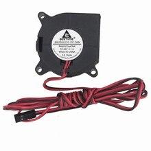 Gdstime 2 шт./лот 40 мм x 20 мм 4 см 4020 24 в DC кабель 3 фута мяч центробежный вентилятор охлаждения вентилятор для охладителя 3D-принтер