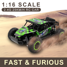 BIGSMYO 1:16 RC CAR 2.4G 25KM/h High Speed Climbing RC Crawler Cars 4CH 2WD RC Drift Car Crawler Radio-Controlled Toys For Boys