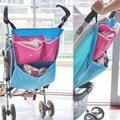 Nuevo Niño Del Bebé Infantil Del Saco Saco Carro Cochecillo Cochecito Pañal Pocket Kids Cochecito De Almacenamiento A Prueba de agua Colgando Bolsa de FCI #