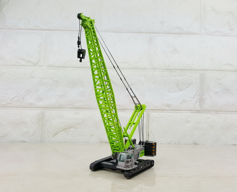 1//120 Scale Zoomlion ZCC1300 Crawler Cranes Diecast Model Collection