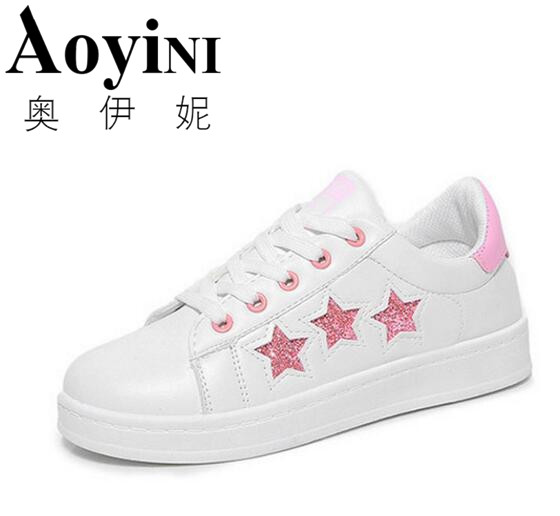 2018 New Fashion Casual Women Shoes Students Simple And Elegant White Shoes Free Shipping free shipping candy color women garden shoes breathable women beach shoes hsa21