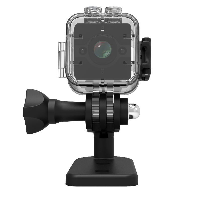 Action Camera Waterproof Case IPX8 Mini Camera Waterproof Shell for Vehicle DVR Quelima SQ12 Camera Driving for Outdoor Sport