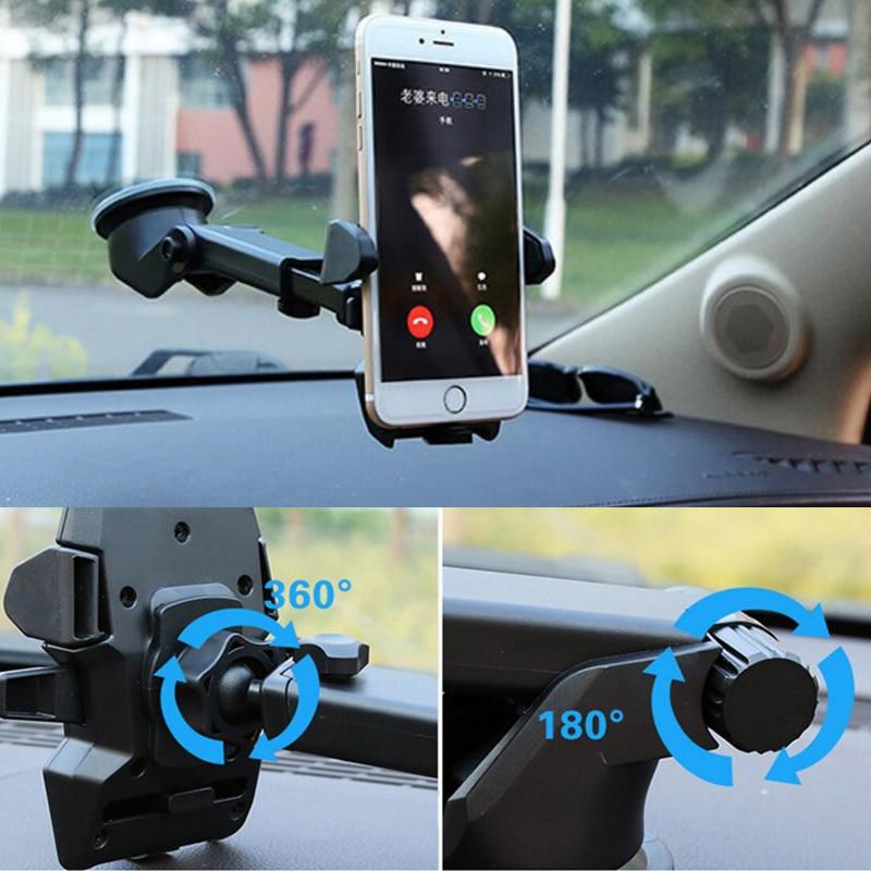 soporte para teléfono del coche marco de navegación retráctil - Accesorios y repuestos para celulares - foto 6