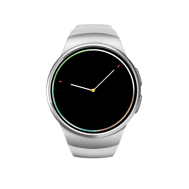 2018 Smart Watch Sim 1.3 Inch Round Smart Watch Sim+TF Card Support Better Than Gv18  HandsFree Sport Fitness Tracker