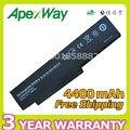 Apexway New Product 6 CELL 4400mAh laptop battery SQU-808-F01 SQU-809-F01 for Fujitsu- Amilo Li3710 Li3910 Li3560 Pi3560 Pi3660