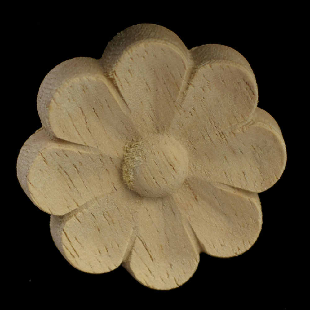4/5/6 см ретро цветочные аппликации древесины резные Винтаж Home Decor круглые аксессуары современный надписи деревянная мебель домашний декор