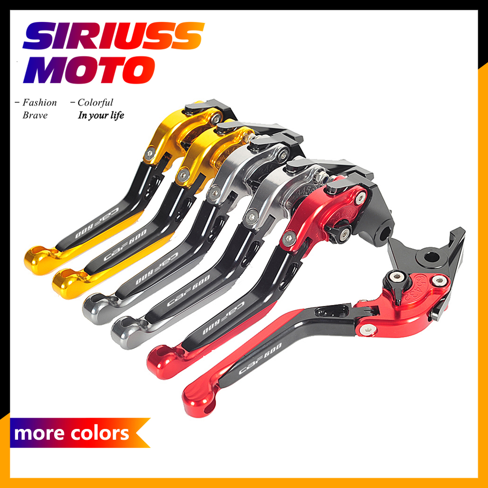 Adjustable Foldable CNC Motorcycle Brake Clutch Levers Case for Honda CBF600 CBF 600 SA 2010 2011 2012 2013 9 color motorcycle cnc brake clutch levers blade for honda cb1100 gio special 2013 2014 2015 cbf1000 a 2010 2011 2012 2013