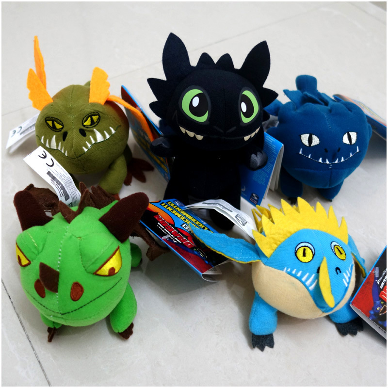 16cm High New How To Train Your Dragon Toothless Plush Doll Toys For Children Stuffed Toys
