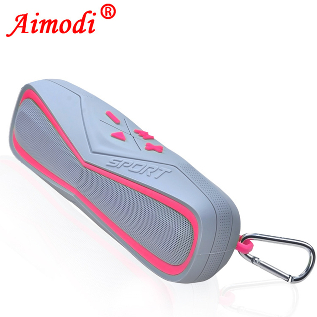 Esporte Bicicleta Mini Speaker Portátil Sem Fio Bluetooth Ao Ar Livre Subwoofer Falante Estéreo Som do Altifalante para Moto Telefone Móvel