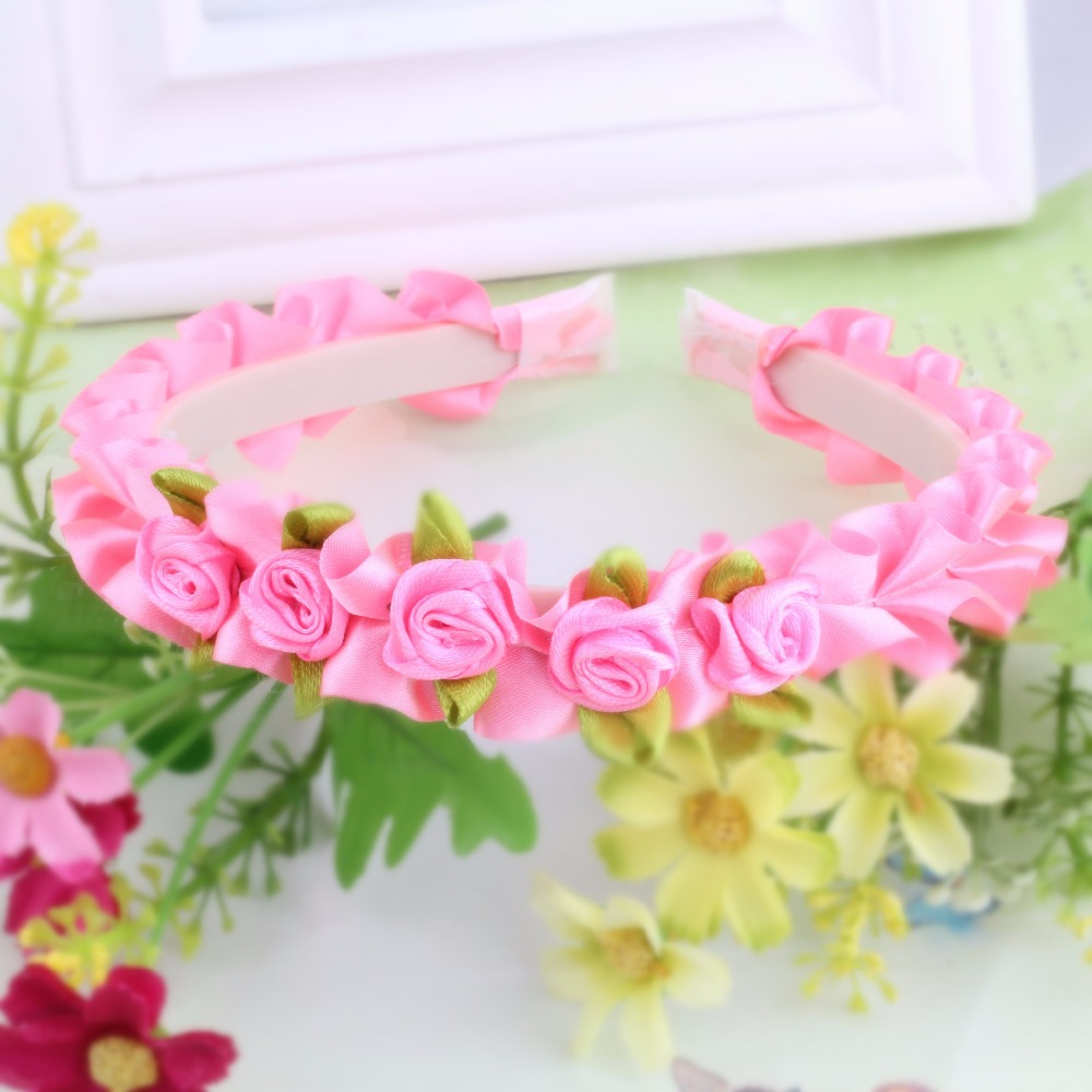 Cute Children Flower Hair Hoop Korea Crown Wedding Headband Headwear