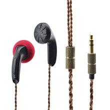 DIY EMX500 In-Ear Auriculares Tapón de Cabeza Plana Auriculares Graves Auriculares de DJ Del Auricular de Alta Fidelidad Calidad de Sonido Bajo Pesado