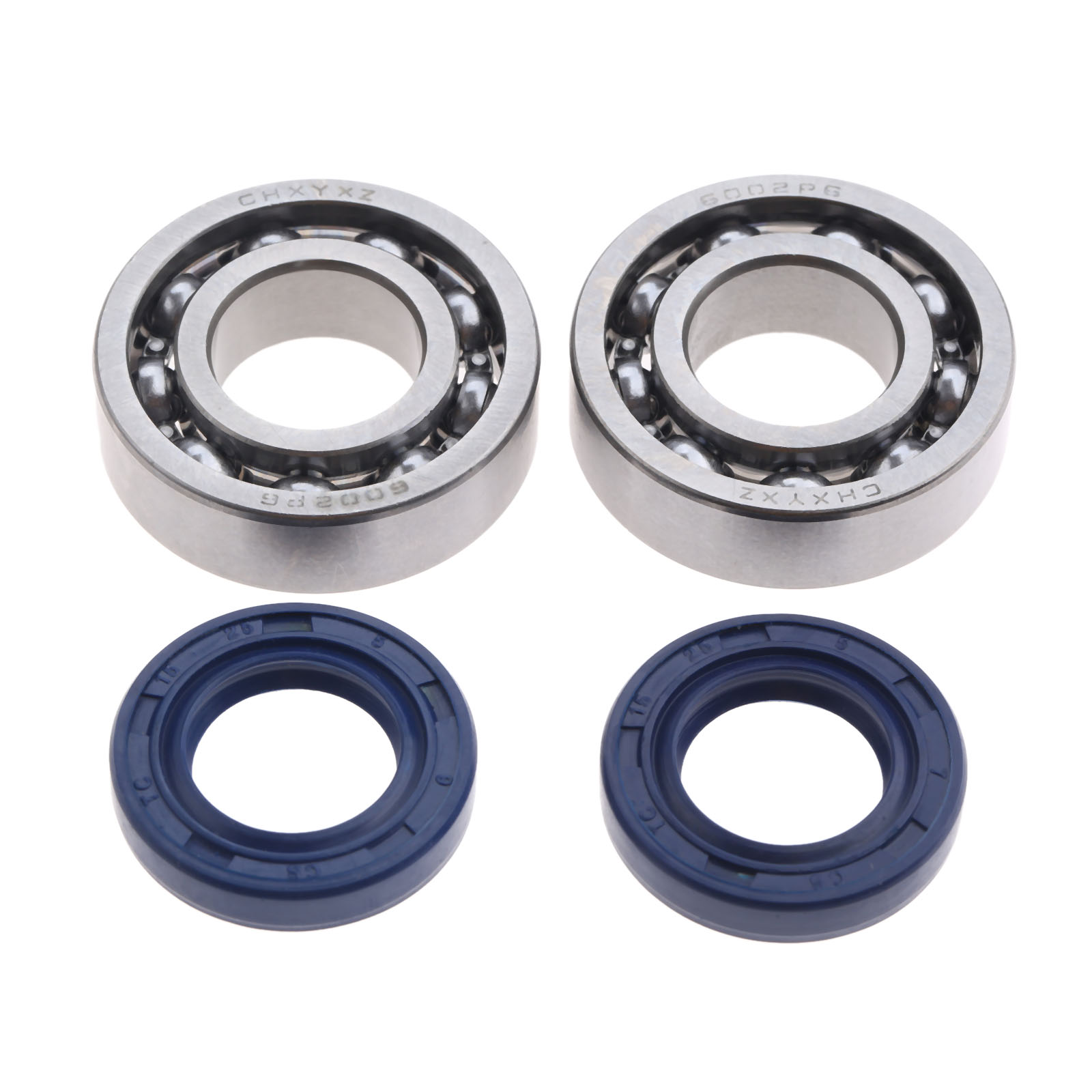 DRELD 2 Pair Crankshaft Bearing And Oil Seal Fit For STIHL 018 017 MS170 MS180 Chainsaw Garden Power Tools Sets