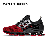 Spring Summer Men's Sneakers 2018 Men Running Shoes Trending Style Sports Shoes Breathable Trainers Walking shoes For Male 001