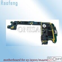 Raofeng разблокирована для samsung galaxy S3 материнская плата GT-i9300 SHW-M440S материнская плата Версия ЕС с полным ЧИПАМИ материнская плата