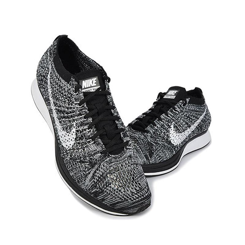 ALI shop ...  ... 32999111675 ... 4 ... Original Authentic Nike Flyknit Racer Men's Running Shoes Mesh Breathable Outdoor Sneakers Athletic Designer Footwear 526628-012 ...