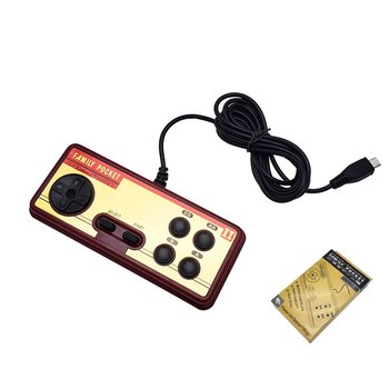 FC280 Children Handheld Game Console USB 400 Games Color Screen Hand-Held Game Console Support Extend Handle