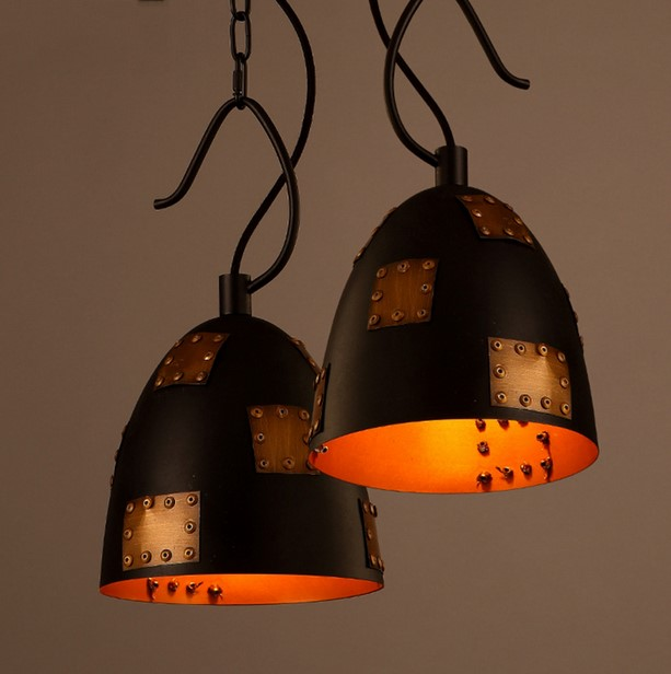Art head coffee shop has bar pendant light individuality originality iron brief retro loft industrial wind lighting ya72911 шапка check ya head check ya head mp002xw0f6u3