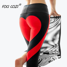 68158b9a97a87 NEW STORE Sports Leggings For Fitness High Waist Actiwear Black And White  Stripes Red Skinny Women