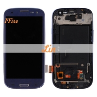 1PCS IFire I9300 Lcd 4 7inch Lcd For Sam Sung S3 I9301 I9305 I747 I535 LCD