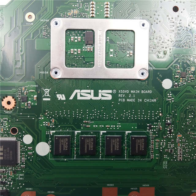 US $82 0 |NEW! 60 N0OMB1100 C05 REV 2 1 For ASUS X55C X55VD Motherboard  with Integrated Graphics -in Motherboards from Computer & Office on