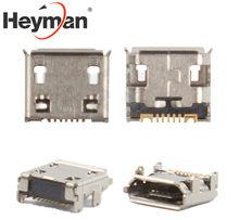 Heyman 充電コネクタ三星銀河 Y デュオ S5300 ポケット S5360 S5380 S5570 S5610 S6102 、 s6802 (7 ピン、マイクロ usb タイプ-B)