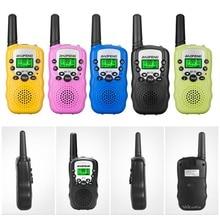 2Pcs BF T3 Mini Walkie Talkie Outdoor Kids Interphones Portable Adventure Radio Transceiver Lightweight Handheld Transceiver