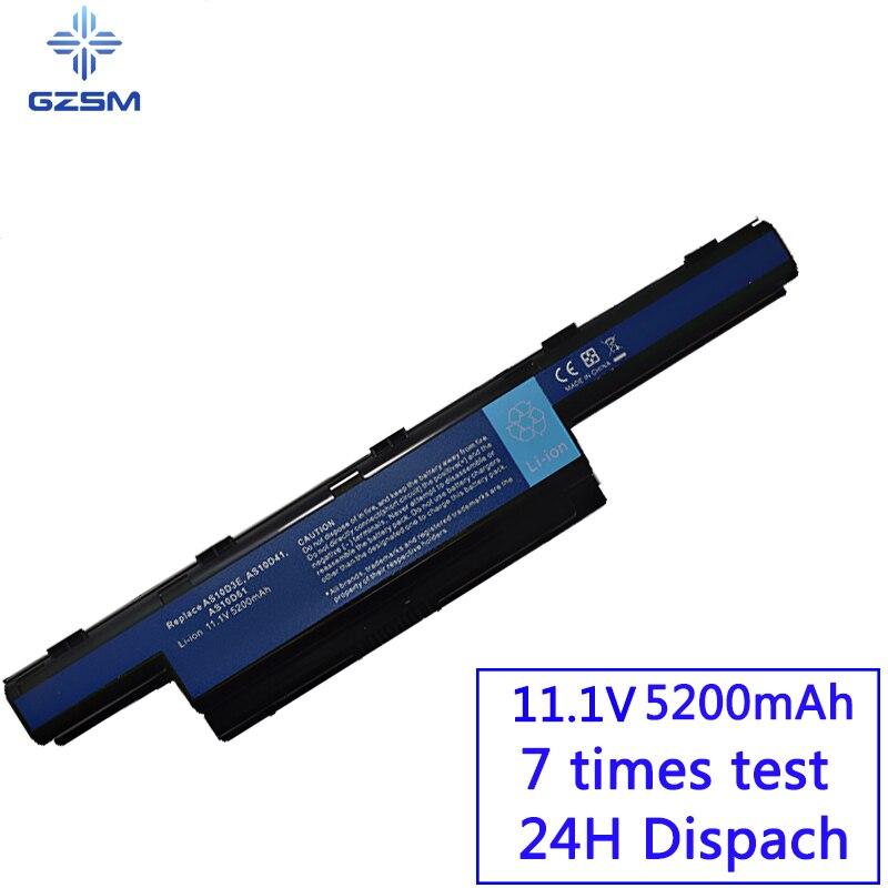 GZSM Laptop Batterie 4741 Für Acer AS10D31 AS10D51 AS10D81 AS10D75 AS10D61 AS10D41 AS10D71 5742G 5552G 5742 5750G 5741G Batterie