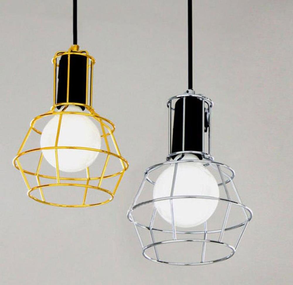 work lamp iron mesh bird cage pendant light brief personalized rh aliexpress com