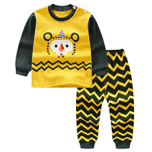 Sweater and Pants Set for Boys with Cartoony Prints