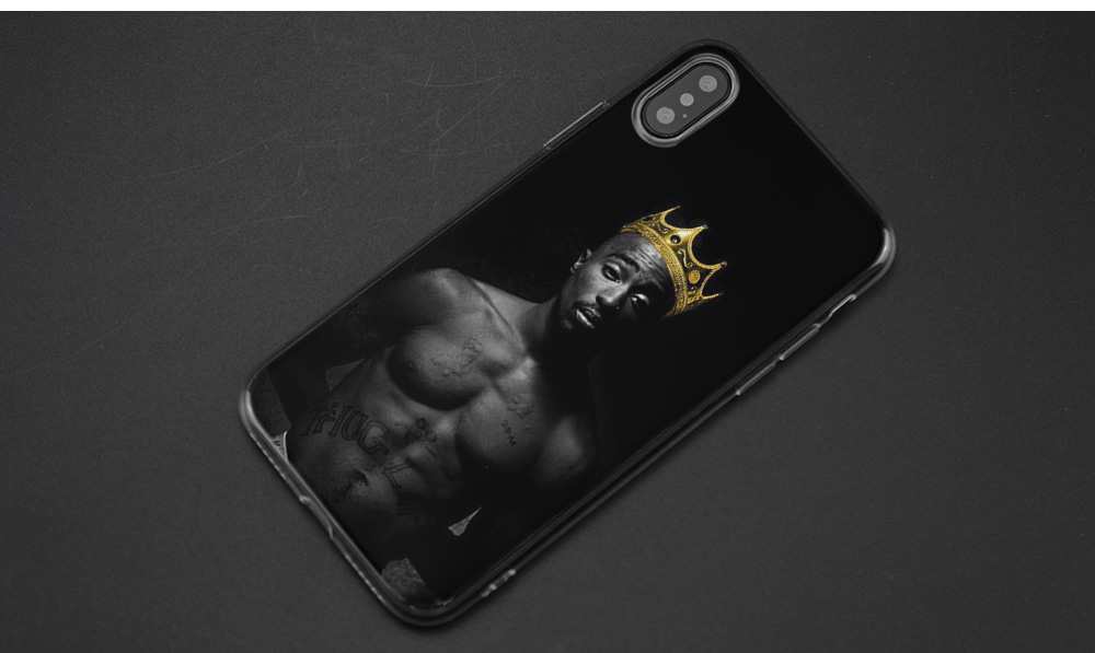 2Pac Tupac Shakur TPU Transparent Soft Shell