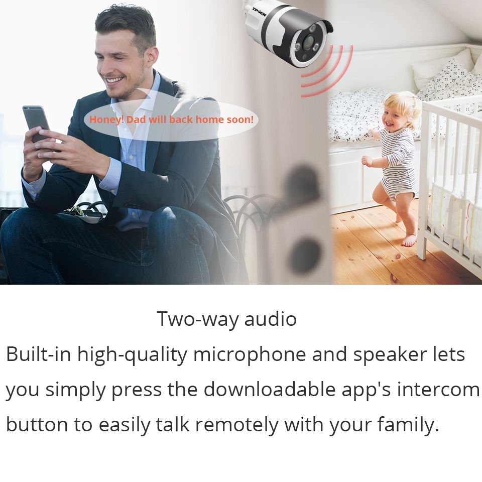 WiFi Outdoor IP Camera Wi-Fi 1080P Wireless Waterproof Security Camera 2MP Yoosee Two Way Audio CCTV Surveillance Bullet Camara