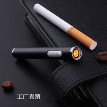 Portátil recargable Mecheros largo USB electric arc plasma encendedor fumar Herramientas gadgets para regalos