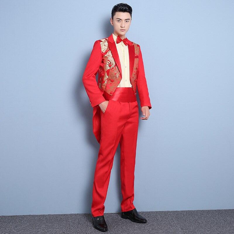 Solido Decorato Nuovo Tuxedo Primavera Vestito Uomo E Spettacolo Ospite L  estate Colore Da Cinese Di Cerimonia Sposo Nozze Abiti ... 7c5cab4d86b