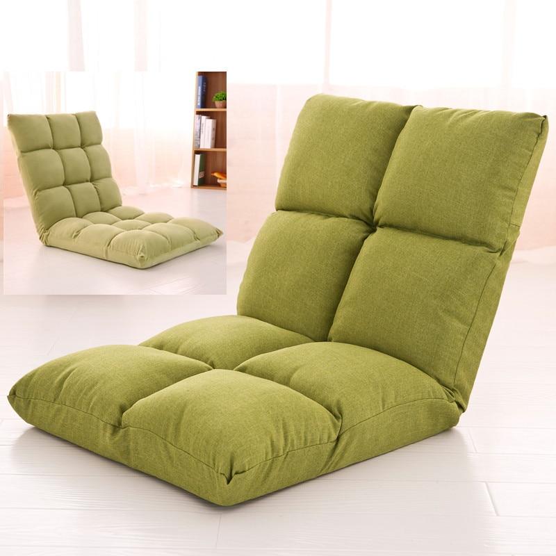 Lazy Tatami Sofa Single Leisure Folding Bed Dormitory Computer Bedroom Balcony Floating Window Chair
